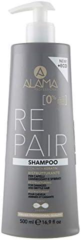 Alama Professional REPAIR Shampoo Ristrutturante per Capelli Danneggiati e Sfibrati - 500 ml