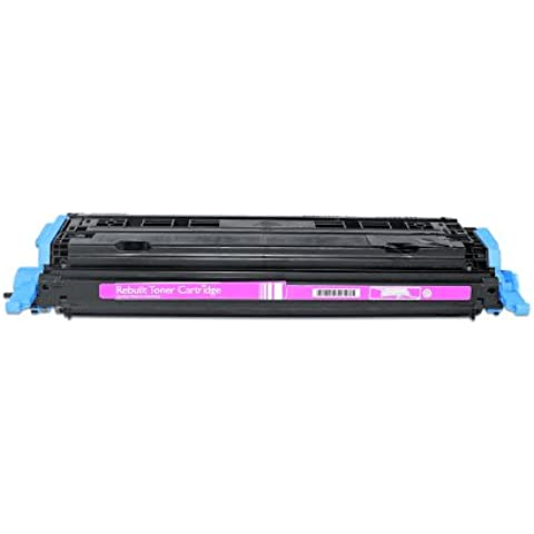 Compatibile per HP Color LaserJet 2600 Series Cartuccia Toner Q6003A 124A Magenta 2000 pagine