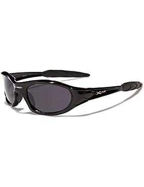 X-Loop–Gafas de sol Xtreme nuevo modelo de 2014–Full protección UV 400–perfecto para esquí y deportes Negro...