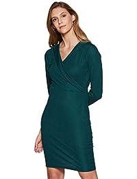 Miss Olive Women's Body Con Knee-Long Dress