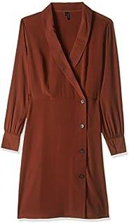 Vero Moda-10214924-Female-Dresses-Henna-M