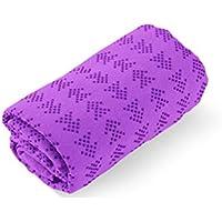 Preisvergleich für XZ Mikrofaser Yoga-Matte Yoga-Handtuch Rutschfeste Superabsorbierende Maschine Waschbar Schnell Trocknen Freie Tragetasche
