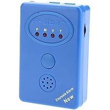 DZXGJ® F-Star con conexión de cable multi-alarma Alarma Enuresis Modos (Azul)