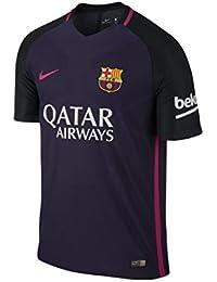 Nike FC Barcelona M SS AW Vapor Match JSY - Camiseta de Manga Corta para  Hombre 9dbdb994e15
