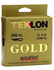 Teklon GOLD 300 m spool - 0.35 mm High End Monofilament made in Japan by Grauvell