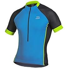 Spiuk Race Maillot, Hombre, Azul / Verde, L
