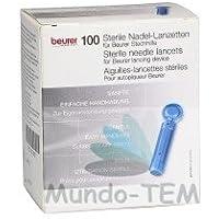 Beurer 100 needle lancets - Accesorio para dispositivo médico Azul