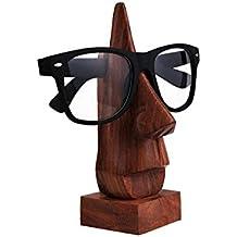 Saint Valentin Jour Cadeau spécial pour vos proches, Sculpté Rosewood verres Holder Lunettes de nez en forme de main classique,porte-lunettes, porte-lunettes, porte-lunettes, porte-lunettes