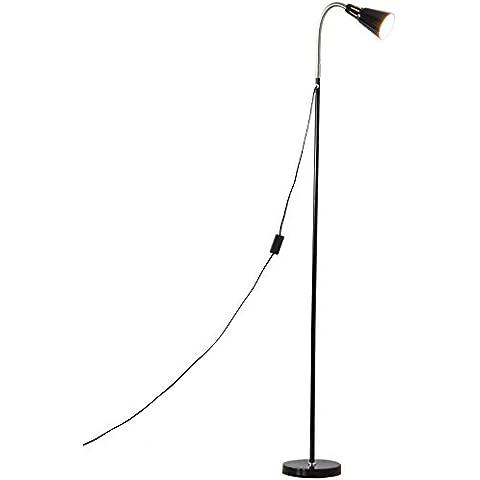 Protezione degli occhi LED semplice creativa moderna Lampada da terra