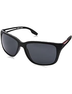 Prada Linea Rossa 0PS 03TS, Gafas de Sol para Hombre, Matte Black, 59