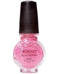 Vernis ROSE BONBON stamping nail art Konad - 11ml