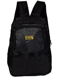 Ideal® Easy 25 Ltrs School Backpack (Black)