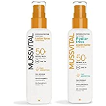 MUSSVITAL PACK SPRAY SOLAR SFP 50+ 200 ml + PEDIATRIC SPRAY SFP 50+ 200
