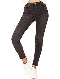 9614b7692640 Jean Femme Slim Regular Bootcut Skinny - Pantalon Stretch Denim du 34 au 42
