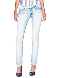 Salsa - Jeans presque blancs Wonder Push Up délavage premium - Femme