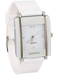 Snapcrowd Women White Plastic Watch Sc-Kawa White
