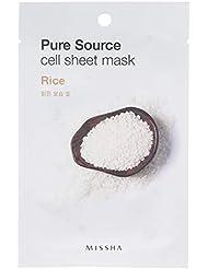 MISSHA Pure Source Cell Sheet Mask (Rice), 1er Pack