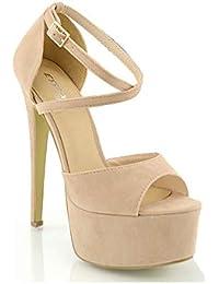Amazon.it  13 cm e più - Scarpe col tacco   Scarpe da donna  Scarpe ... 8e261076870