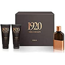 TOUS 1920 THE ORIGIN ESTUCHE EAU DE PARFUM 100ML+GEL+AFTER SHAVE
