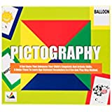 Prism Edutives Pictography A Game Of Spell And Draw Card Game (Green)