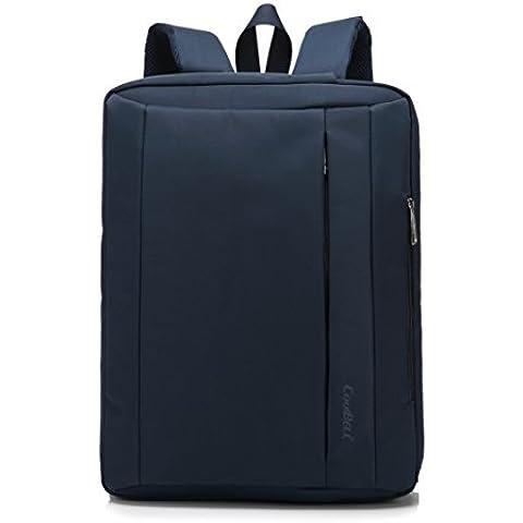 Hombre Mujeres 17.3 inch nylon multifunción maletín bandolera Bolso Bandolera para ordenador portátil ordenador bolsa para iPad/ MacBook Pro/ MacBook