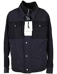 MONCLER Cl Blue Beaufort Utility Jacket Coat Size 6 / XXL / 56 / 46R U.S.