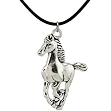 5da539bd478f Tolma Collar Caballo galopando Cavalier y Enamorados de los Caballos y de  la Naturaleza – Colgante