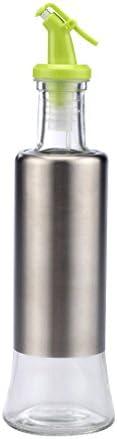 C-K-P Bottiglia di vetro di soia bottiglia di aceto aceto aceto bottiglia di aceto a tenuta stagna bottiglia sigillata bottiglia di olio ampolla trasparente stile europeo senza piombo cucina forniture (6.8x25 cm) B07G5CP692 Parent | Materiali Di Altissima Qualità  | 340a86