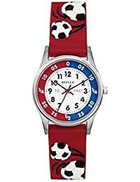 Montre Reflex pour Garçon Rouge 3D Football Time Teacher refk08
