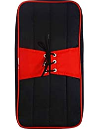 BANSURI reusable waterproof zippered double sided black and red combination shoe cover (Men/Boys)