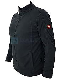 dc1a6b1455 Engelbert Strauss e.s. microflece Jacke dryplexx® Micro Weiss/Schwarz/Grau