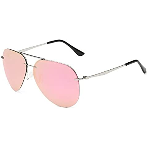 0-C clásico Aviator Gafas de sol polarizadas 63mm Oversize