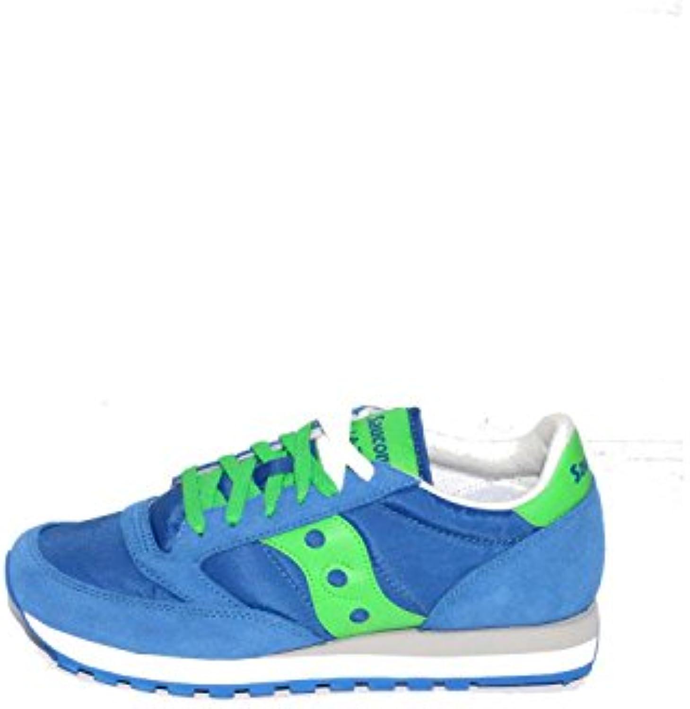 SAUCONY scarpe scarpe da ginnastica uomo JAZZ ORIGINAL S2044-421 S2044-421 S2044-421 blu verde 40.5 | Aspetto Gradevole  d1ffb1