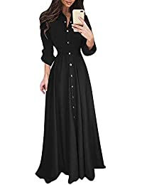 Vestido negro con transparencias largo