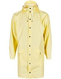 Rains Long Jacket, Impermeable para Hombre, Amarillo