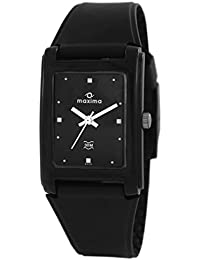 Maxima Analog Black Dial Men's Watch - 02431PPGW