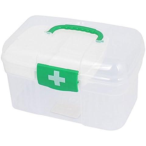 sourcingmap® Plastica Doppio Strati Salute Pillola Medicina