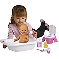 Fisher-Price bath set and accessories for doll