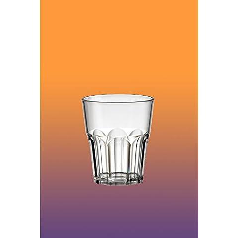 6pezzi Long Drink San (acrilico) 27cl, Trasparente effetto Caipirinha