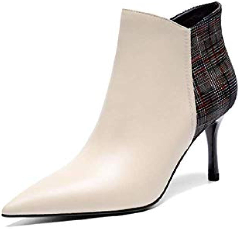 f1c3b34038eaa ZPEDY De Chaussures pour Femmes, Bottillons, Pointus, Talons Hauts, De ZPEDY  Style