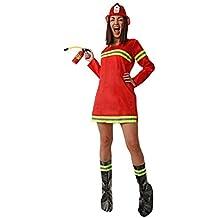 Disfraz de Bombera para Mujer Adulta Especial para Fiestas de Disfraces y  Carnaval Talla dbce846f64e