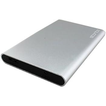 Storite 2.5 Inch SATA to USB 3.0 External Hard Drive Enclosure/Caddy (Silver)