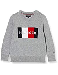 Tommy Hilfiger TH Logo Sweater Suéter para Niños