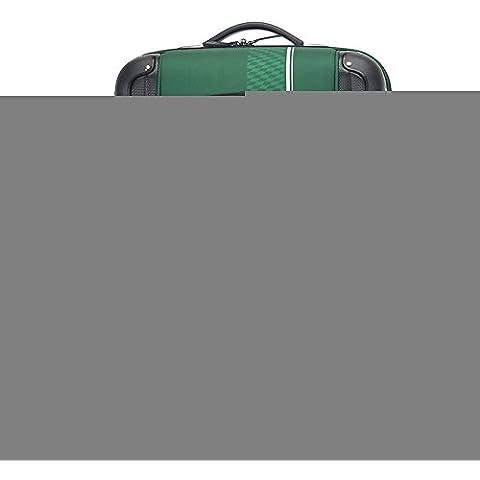 cheque bolsa de viaje paño caso varilla de tracción código Oxford desgaste impermeable maleta resistente , green , 24