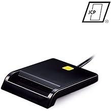 Lector DNIe [Lector de Tarjetas USB 2.0] [ISO 7816] [Compatible con Windows Vista, XP, 7, 8 y 10] [Plug and Play]