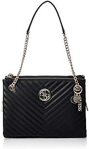 Guess Womens Satchels Bag, Black - VG766308