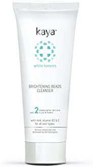 Kaya Clinic Brightening Beads Cleanser, Vitamin E & B3 enriched everyday brightening face wash, 10