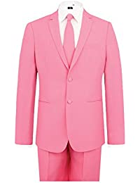 Costume Homme rose