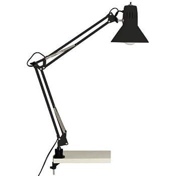black-colored desk lamp clamp hobby, 10802/06 Brilliant