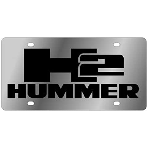 Hummer H2 License Plate by Eurosport Daytona